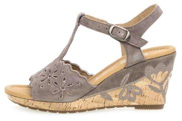 Gabor Comfort Sport Sandaletten in Übergrößen Braun 22.826.78 große Damenschuhe – Bild 1