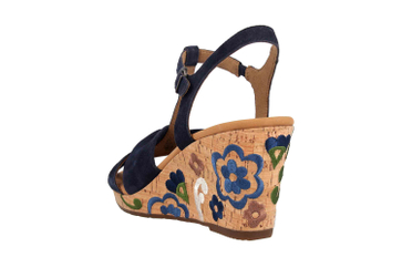 Gabor Comfort Sport Sandaletten in Übergrößen Blau 22.828.36 große Damenschuhe – Bild 2