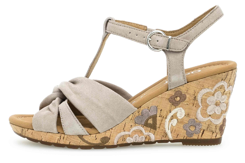 Gabor Comfort Sport Sandaletten in Übergrößen Braun 22.828.42 große Damenschuhe – Bild 1