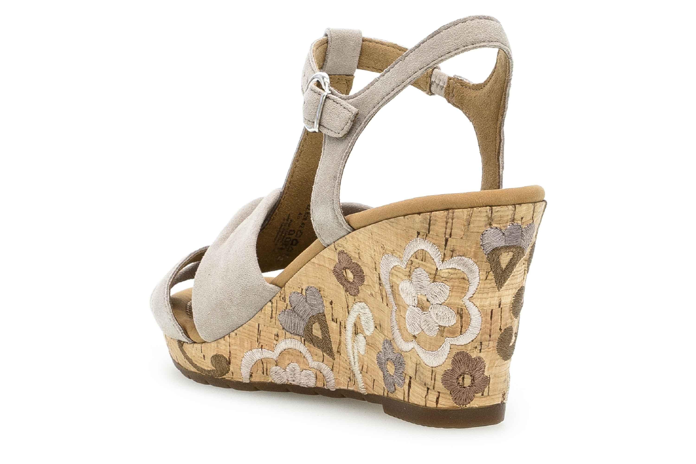 Gabor Comfort Sport Sandaletten in Übergrößen Braun 22.828.42 große Damenschuhe – Bild 2