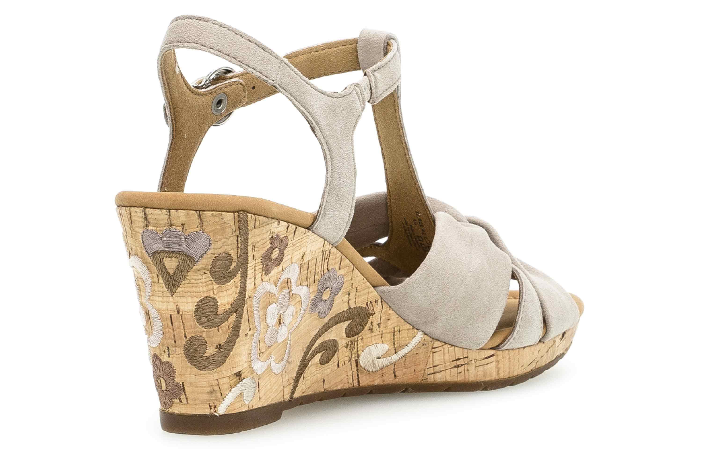 Gabor Comfort Sport Sandaletten in Übergrößen Braun 22.828.42 große Damenschuhe – Bild 3