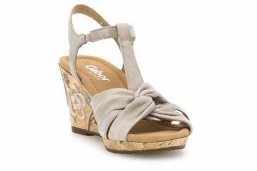 Gabor Comfort Sport Sandaletten in Übergrößen Braun 22.828.42 große Damenschuhe – Bild 5
