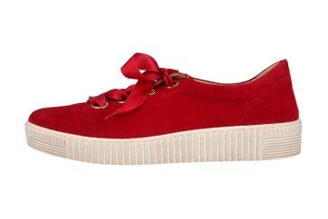 Gabor Jollys Sneaker in Übergrößen Rot 23.330.10 große Damenschuhe – Bild 1