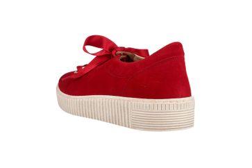 Gabor Jollys Sneaker in Übergrößen Rot 23.330.10 große Damenschuhe – Bild 2