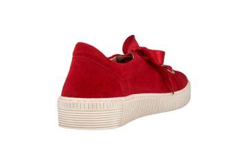 Gabor Jollys Sneaker in Übergrößen Rot 23.330.10 große Damenschuhe – Bild 3