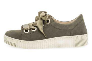 Gabor Jollys Sneaker in Übergrößen Grün 23.330.15 große Damenschuhe – Bild 1