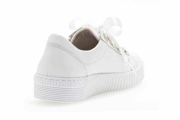 Gabor Jollys Sneaker in Übergrößen Weiss 23.330.21 große Damenschuhe – Bild 3