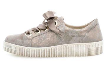 Gabor Jollys Sneaker in Übergrößen Beige 23.330.62 große Damenschuhe – Bild 1