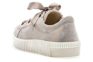 Gabor Jollys Sneaker in Übergrößen Beige 23.330.62 große Damenschuhe – Bild 2