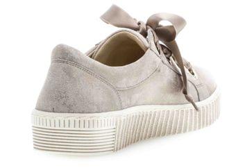 Gabor Jollys Sneaker in Übergrößen Beige 23.330.62 große Damenschuhe – Bild 3