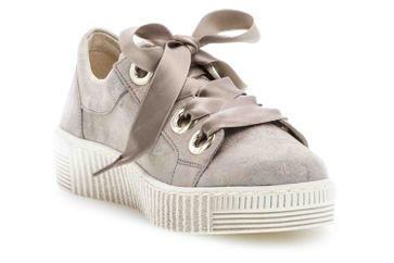 Gabor Jollys Sneaker in Übergrößen Beige 23.330.62 große Damenschuhe – Bild 5