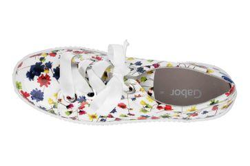Gabor Jollys Sneaker in Übergrößen Weiss 23.330.90 große Damenschuhe – Bild 7