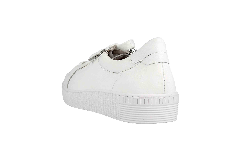 Gabor Jollys Sneaker in Übergrößen Weiss 23.334.21 große Damenschuhe – Bild 2