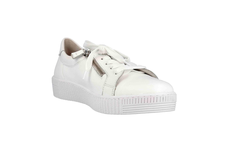 Gabor Jollys Sneaker in Übergrößen Weiss 23.334.21 große Damenschuhe – Bild 5