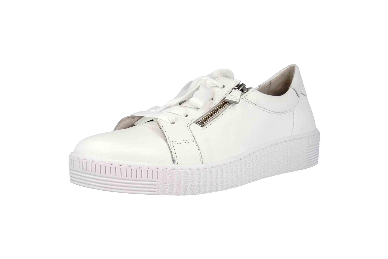Gabor Jollys Sneaker in Übergrößen Weiss 23.334.21 große Damenschuhe – Bild 6