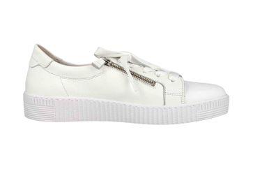 Gabor Jollys Sneaker in Übergrößen Weiss 23.334.21 große Damenschuhe – Bild 4