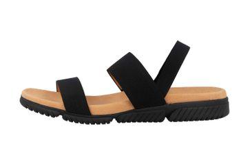 Gabor Jollys Sandaletten in Übergrößen Schwarz 23.710.87 große Damenschuhe – Bild 1