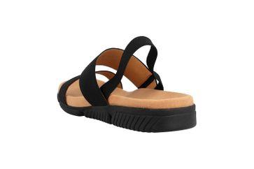 Gabor Jollys Sandaletten in Übergrößen Schwarz 23.710.87 große Damenschuhe – Bild 2