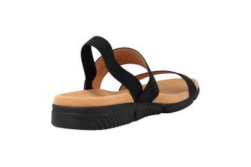 Gabor Jollys Sandaletten in Übergrößen Schwarz 23.710.87 große Damenschuhe – Bild 3