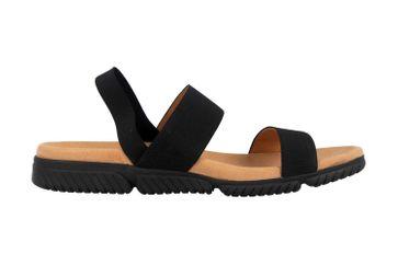 Gabor Jollys Sandaletten in Übergrößen Schwarz 23.710.87 große Damenschuhe – Bild 4