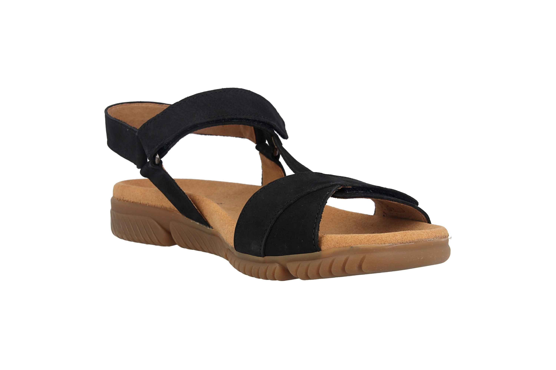 Gabor Jollys Sandaletten in Übergrößen Blau 23.713.16 große Damenschuhe – Bild 5