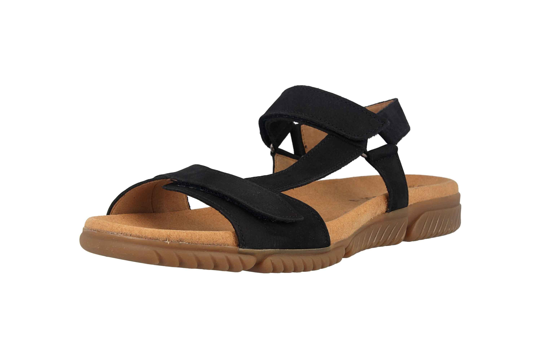 Gabor Jollys Sandaletten in Übergrößen Blau 23.713.16 große Damenschuhe – Bild 6