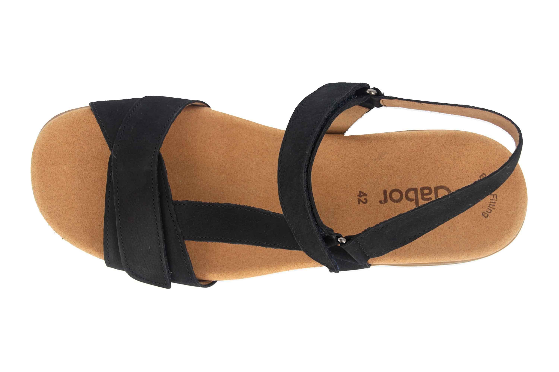 Gabor Jollys Sandaletten in Übergrößen Blau 23.713.16 große Damenschuhe – Bild 7