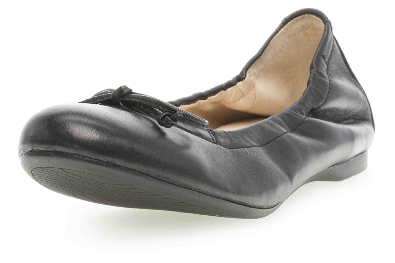 Gabor Casual Ballerina in Übergrößen Schwarz 24.120.27 große Damenschuhe – Bild 6