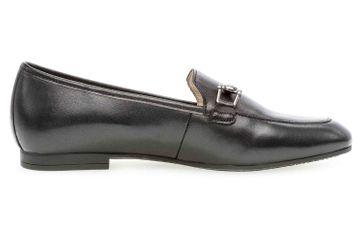 Gabor Casual Slipper in Übergrößen Schwarz 24.210.27 große Damenschuhe – Bild 4
