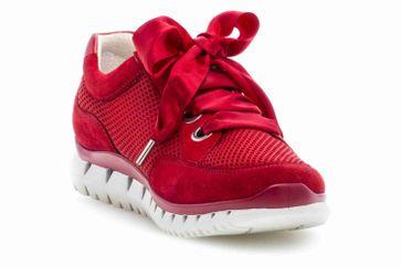 Gabor Sport Sneaker in Übergrößen Rot 24.250.15 große Damenschuhe – Bild 5