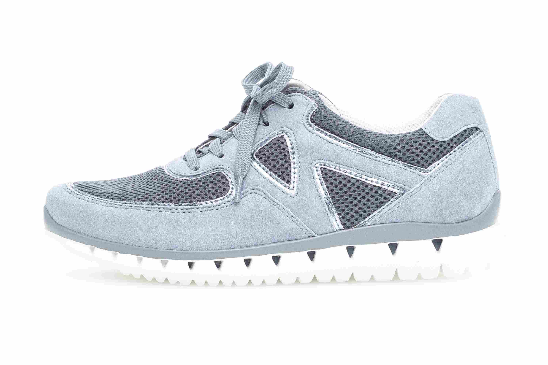 Gabor Sport Sneaker in Übergrößen Blau 24.251.10 große Damenschuhe – Bild 1