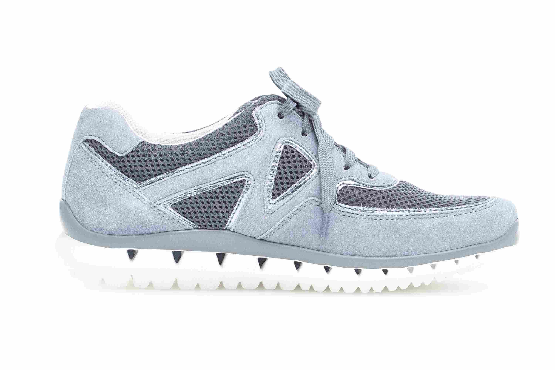 Gabor Sport Sneaker in Übergrößen Blau 24.251.10 große Damenschuhe – Bild 4