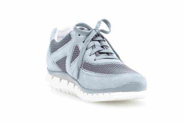 Gabor Sport Sneaker in Übergrößen Blau 24.251.10 große Damenschuhe – Bild 5