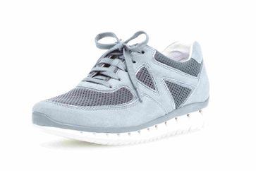 Gabor Sport Sneaker in Übergrößen Blau 24.251.10 große Damenschuhe – Bild 6