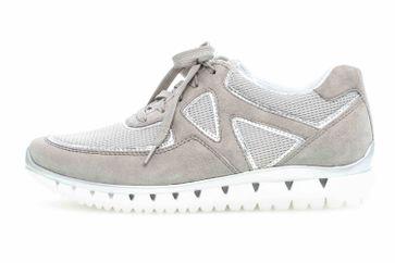 Gabor Sport Sneaker in Übergrößen Grau 24.251.19 große Damenschuhe – Bild 1