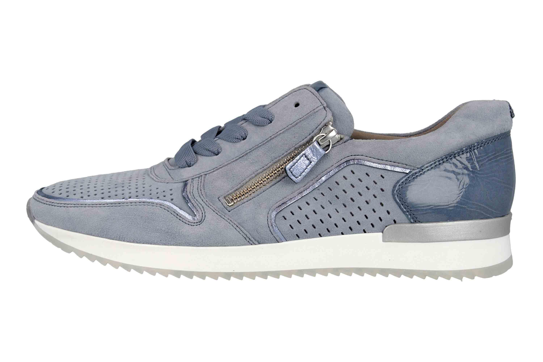 Gabor Casual Sneaker in Übergrößen Blau 24.422.16 große Damenschuhe – Bild 1