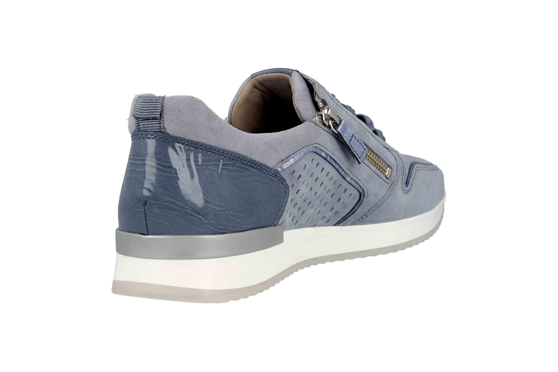 Gabor Casual Sneaker in Übergrößen Blau 24.422.16 große Damenschuhe – Bild 3