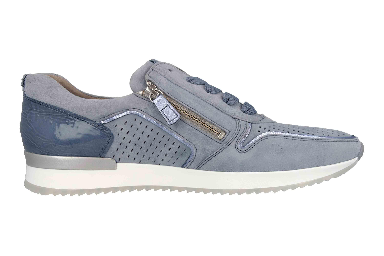 Gabor Casual Sneaker in Übergrößen Blau 24.422.16 große Damenschuhe – Bild 4