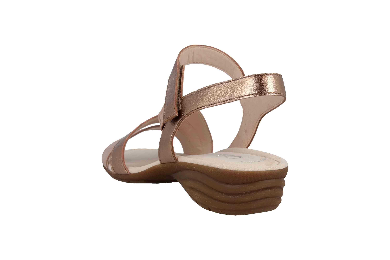 Gabor Casual Sandaletten in Übergrößen Rosa 24.551.14 große Damenschuhe – Bild 2