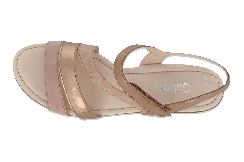 Gabor Casual Sandaletten in Übergrößen Rosa 24.551.14 große Damenschuhe – Bild 7