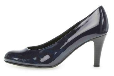 Gabor Basic Pumps in Übergrößen Blau 25.310.76 große Damenschuhe – Bild 1