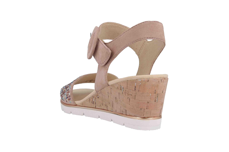 Gabor Basic Sandaletten in Übergrößen Rosa 25.754.34 große Damenschuhe – Bild 2
