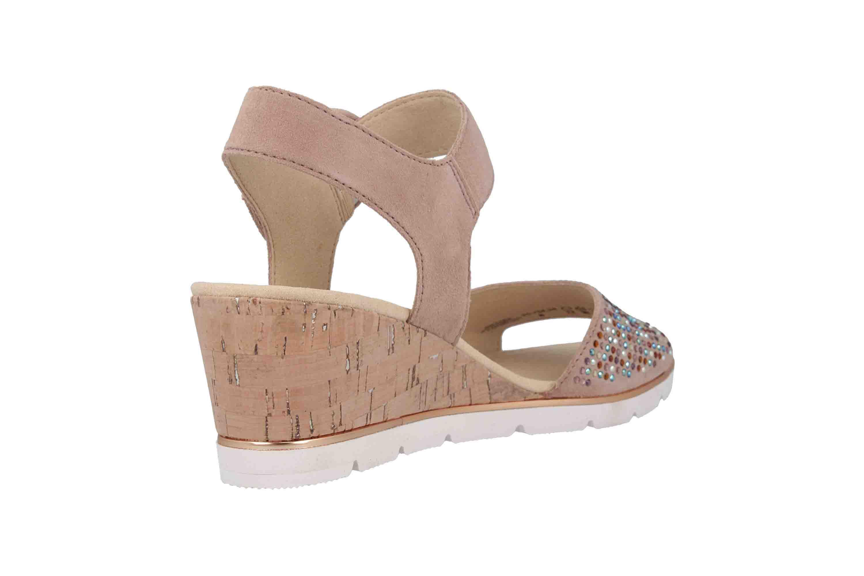 Gabor Basic Sandaletten in Übergrößen Rosa 25.754.34 große Damenschuhe – Bild 3