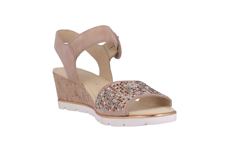 Gabor Basic Sandaletten in Übergrößen Rosa 25.754.34 große Damenschuhe – Bild 5