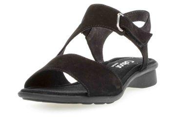 Gabor Comfort Basic Sandaletten in Übergrößen Schwarz 26.063.47 große Damenschuhe – Bild 6