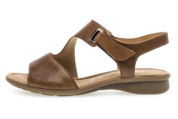 Gabor Comfort Basic Sandaletten in Übergrößen Braun 26.063.54 große Damenschuhe – Bild 1
