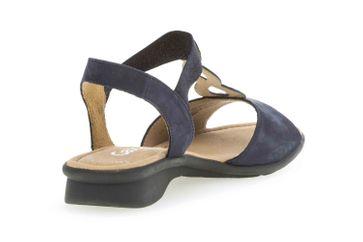 Gabor Comfort Basic Sandaletten in Übergrößen Blau 26.065.36 große Damenschuhe – Bild 3