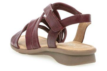 406afe1ee1804d Gabor Comfort Basic Sandaletten in Übergrößen Rot 26.066.18 große  Damenschuhe – Bild 2