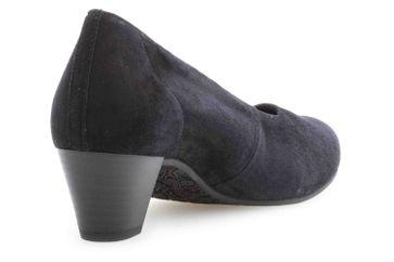 Gabor Comfort Basic Trotteur in Übergrößen Blau 26.180.46 große Damenschuhe – Bild 3