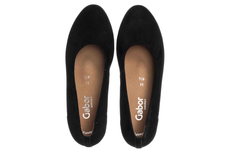 Gabor Comfort Basic Pumps in Übergrößen Schwarz 26.180.47 große Damenschuhe – Bild 7